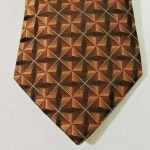John Ashford Mens Dress Suit Necktie 100% Silk